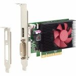 EXDISPLAY HP NVIDIA GeForce GT 730 2GB GDDR3 Graphics Card N3R90AA