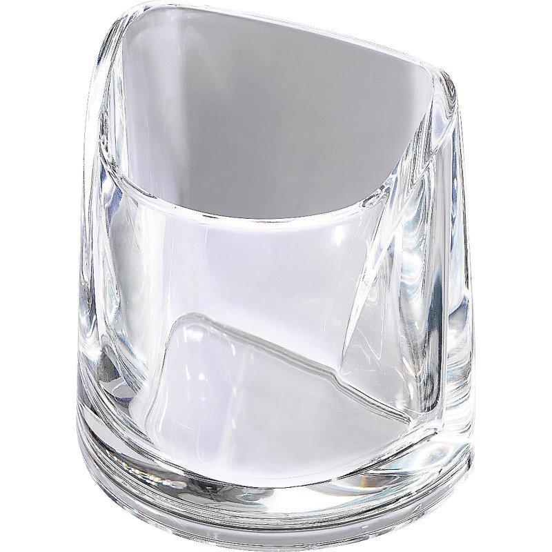 Rexel Nimbus Acrylic Pencil Cup - Clear