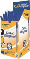 Bic Blue Cristal Soft Medium Ballpoint Pen (Pack of 50)