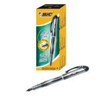 Bic Black All In One Disposable Fountain Pen (Pack of 12)