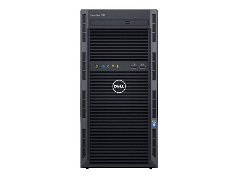 Dell PowerEdge T130 Xeon E3-1220V6 3GHz 4GB RAM 1TB HDD Mini Tower Server