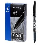 Pilot FriXion Erasable Black Rollerball Pen (Pack of 12)
