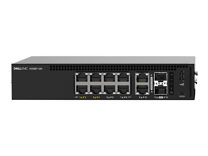 Dell EMC Networking N1108P-ON 8 Port Managed Switch
