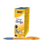 Bic Grip Ballpoint Blue Pen (Pack of 20)