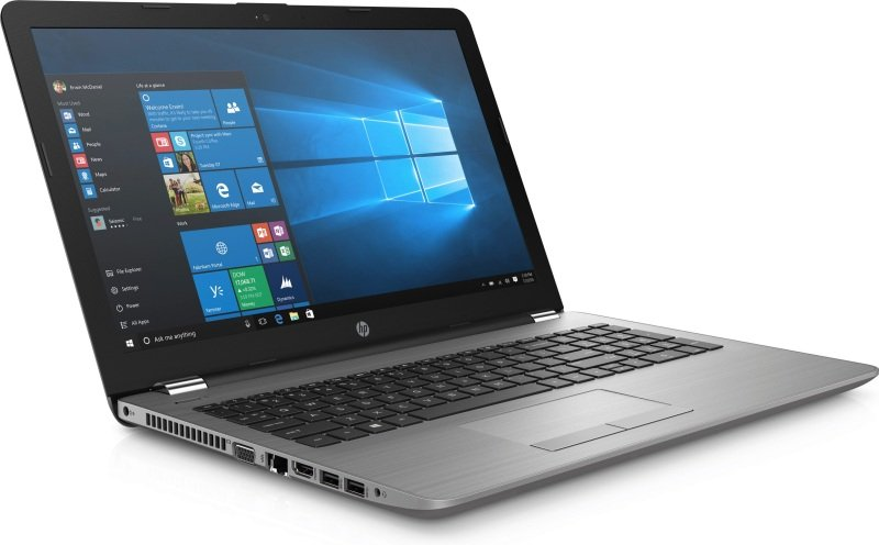 "EXDISPLAY HP 250 G6 Laptop Intel Core i5-7200U 2.5GHz 8GB DDR4 256GB SSD 15.6"" Full HD DVDRW Intel HD WIFI Bluetooth Windows 10 Pro"