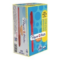 Papermate Red InkJoy 100 Ballpoint Pen (Pack of 50)