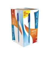 Papermate Blue InkJoy 100 Ballpoint Pen (Pack of 50)