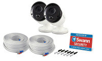 Swann SWPRO-5MPMSBPK2 5MP Heat Sensing Cameras (Twin Pack)