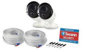 Swann SWPRO-5MPMSBPK2 5MP Heat Sensing Cameras (Twin Pack)