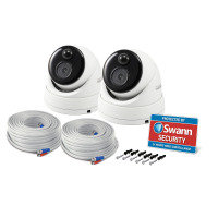 Swann Thermal Sensing PIR Security Camera, 2 Pack