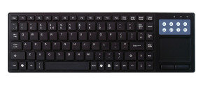 CIT TPad USB Multimedia Keyboard with Touchpad
