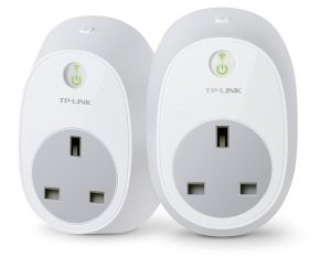 TP LINK HS100 Wi-Fi Smart Plug - Twin Pack