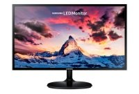 "24"" Black LED Monitor Full HD Super Slim Design"