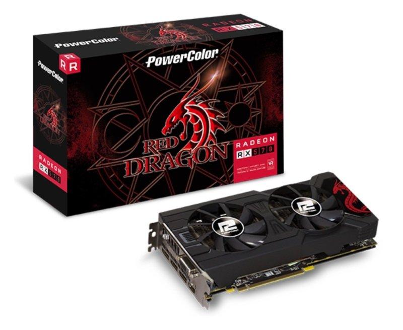 PowerColor Red Dragon Radeon RX 570 8GB GDDR5 Graphics Card