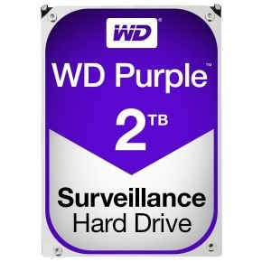 "WD Purple Surveillance 2 TB Internal HDD - 3.5"""
