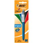 Bic 4 Colour Pen Blister Pk1 Ast - 12 Pack