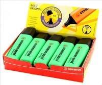 Stabilo Boss Original Highlighter Green (10 Pack)