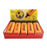 Stabilo Boss Original Highlighter Orange (10 Pack)