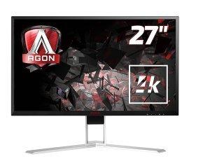 """AOC Agon 27"""" AG271Ug 4K G-sync Gaming Monitor"""
