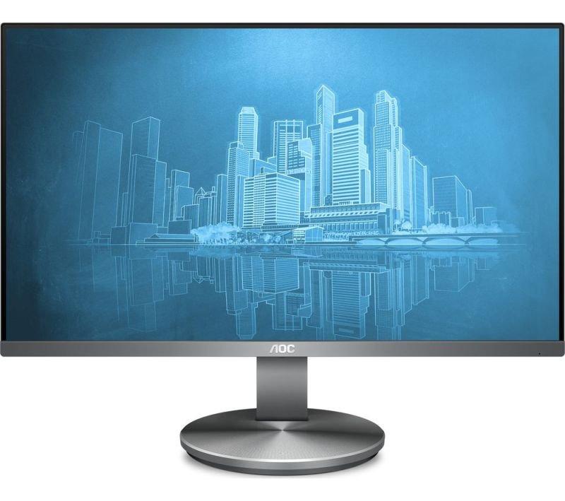 """Image of AOC i2490vxq Full HD 23.8"""" IPS LCD Monitor - Black"""
