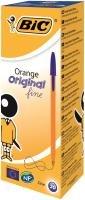 Bic Orange Fine Ballpoint Blue Ink Pen (Pack of 20)