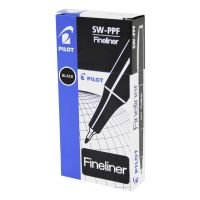 Pilot Black Fineliner Pen (12 Pack)