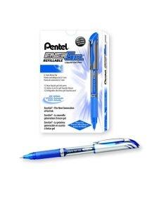 Pentel EnerGel Xm Blue Rollerball Pen (Pack of 12)
