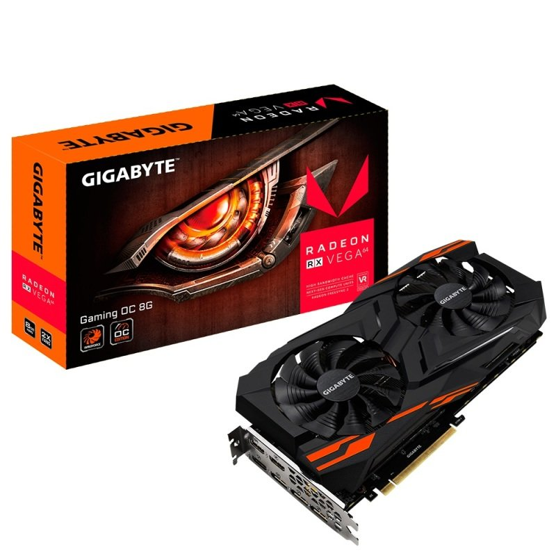 Gigabyte Radeon RX VEGA 64 GAMING OC 8GB HBM2 Graphics Card