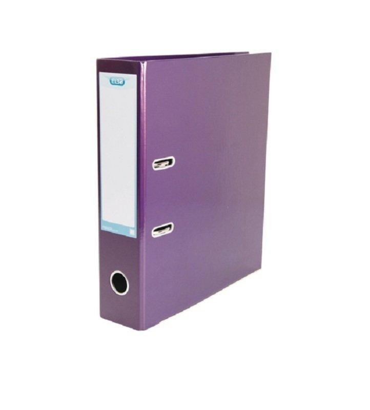 Elba Classy 70mm Metallic Purple A4 Lever Arch File