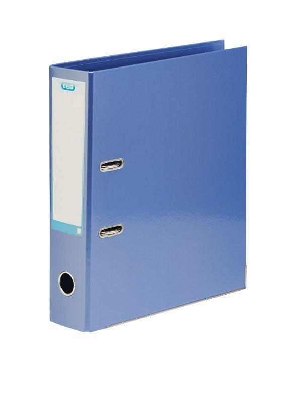 Elba Classy 70mm Metallic Blue A4 Lever Arch File