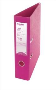 Rexel Joy Pink A4 Lever Arch File (Pack of 6)