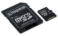Kingston Canvas Select 128GB Micro SD Card + SD Adapter