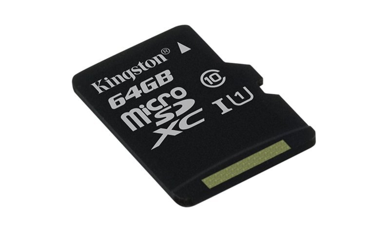 Kingston Canvas Select 64GB Micro SD Card