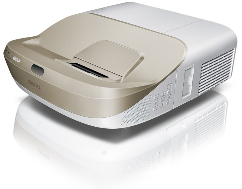 W1600ust Dlp Dc3 Dmd, 1080p Full Hd Video Projector, Ultra Short-throw(mirror-type), Throw Ratio: 0.23, Brightness 3300 Al, High Contrast Ratio 10,000:1, 6,000 Hours Lamp Life (smarteco Mode), 3d, 10w Chamber Speaker X 2, Noise 29db(eco)