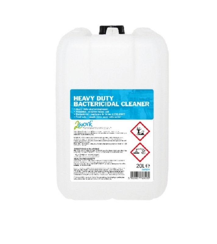 2Work Heavy Duty Bactericidal Cleaner 20L (Pack of 1)