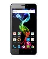 Archos 55B Platinum - Smartphone - dual-SIM - 3G - 8 GB - microSDHC slot - GSM - 5.5 - 1280 x 720 pixels - IPS - 8 MP (2 MP front camera) - Android
