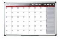 Bi-Office Magnetic 900x600mm Month Planner