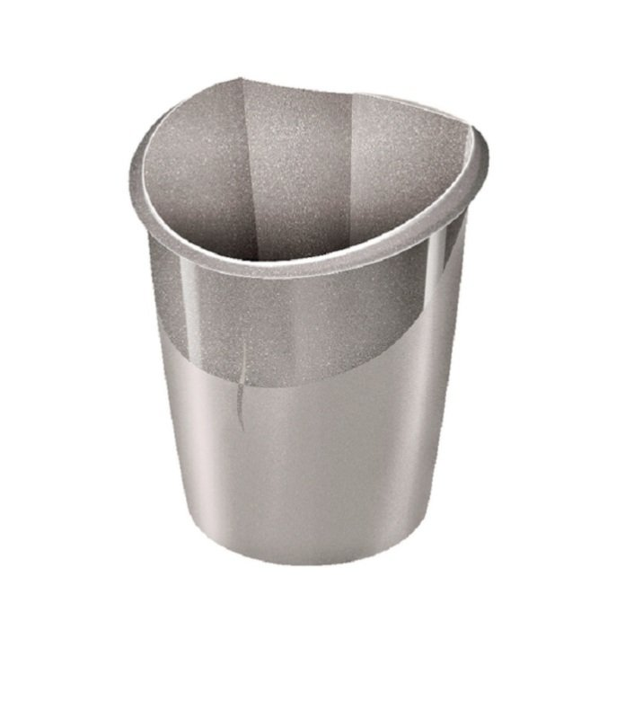 Image of CEP Ellypse Xtra Strong Waste Tub 15 Litre Taupe 1003200201