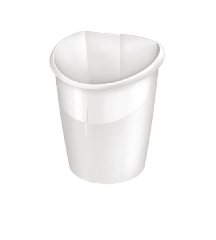 Image of CEP Ellypse Xtra Strong Waste Tub 15 Litre Arctic White 1003200021