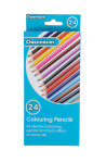 Colour Pencils - Assorted (Pack of 24)