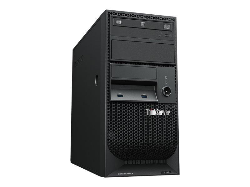 Lenovo ThinkServer TS150 Xeon E3-1225V6 3.3GHz 8GB RAM 2TB HDD 4U Tower Server