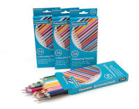 Classmaster Colouring Pencils Assorted (Pack of 36)
