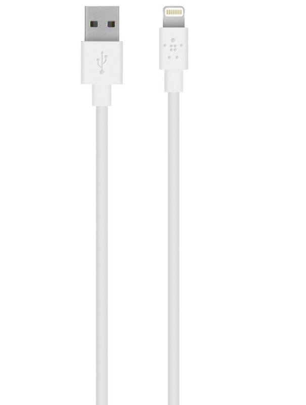 Belkin MIXIT White USB Lightning Cable 1M