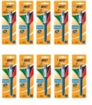 Bic 4 Colour Pen Blister (10 Packs of 1)