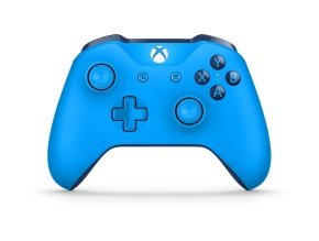 Microsoft Xbox One Wireless Blue Controller