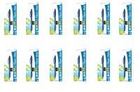 Papermate Flexgrip Blue Ballpoint Pen (Pack of 12)