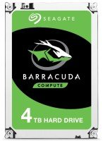 "Seagate BarraCuda 4TB Desktop Hard Drive 3.5"" SATA III 6GB's 5400RPM 256MB Cache"