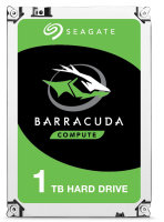 "Seagate BarraCuda 1TB Desktop Hard Drive 3.5"" SATA III 6GB's 7200RPM 64MB Cache"