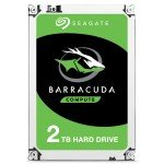 "Seagate BarraCuda 2TB Desktop Hard Drive 3.5"" SATA III 6GB's 7200RPM 64MB Cache"