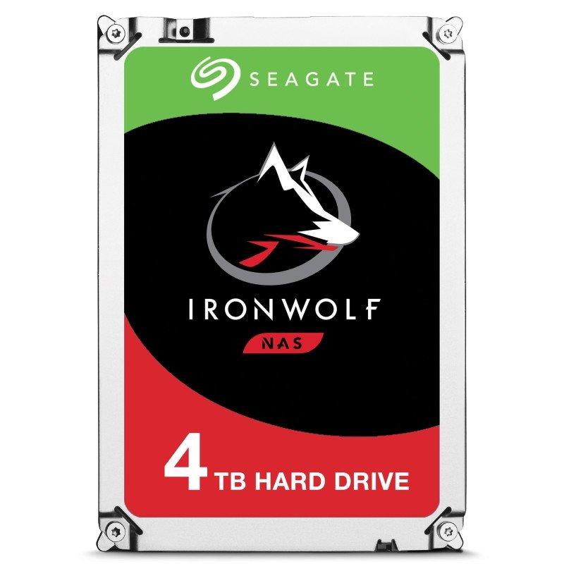 "Seagate IronWolf 4TB NAS Hard Drive 3.5"" SATA III 6GB's 5900RPM 64MB Cache"